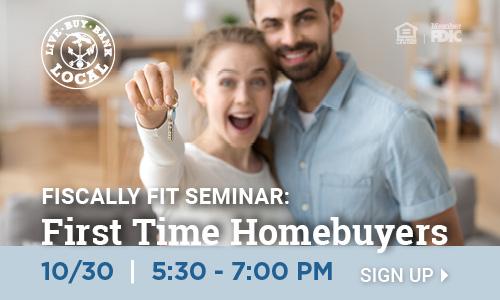 First Time Homebuyer Seminar Banner