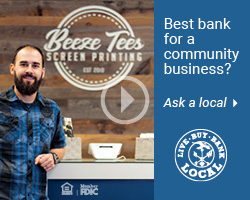 Beeze Tees Local Business Banking