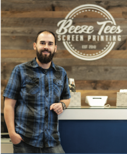 Tim Pipp | Owner Beeze Tees | SBW Business Banking Customer