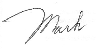 Mark Bodin Signature