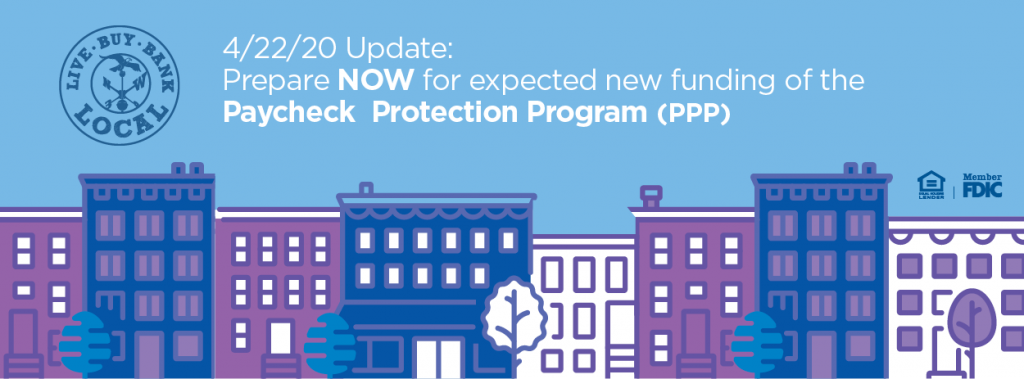 Paycheck Protection Program Banner